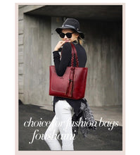 Load image into Gallery viewer, Women tote bag Herald Fashion Retro Tote - Shop Gigatrendy.com Trending Products