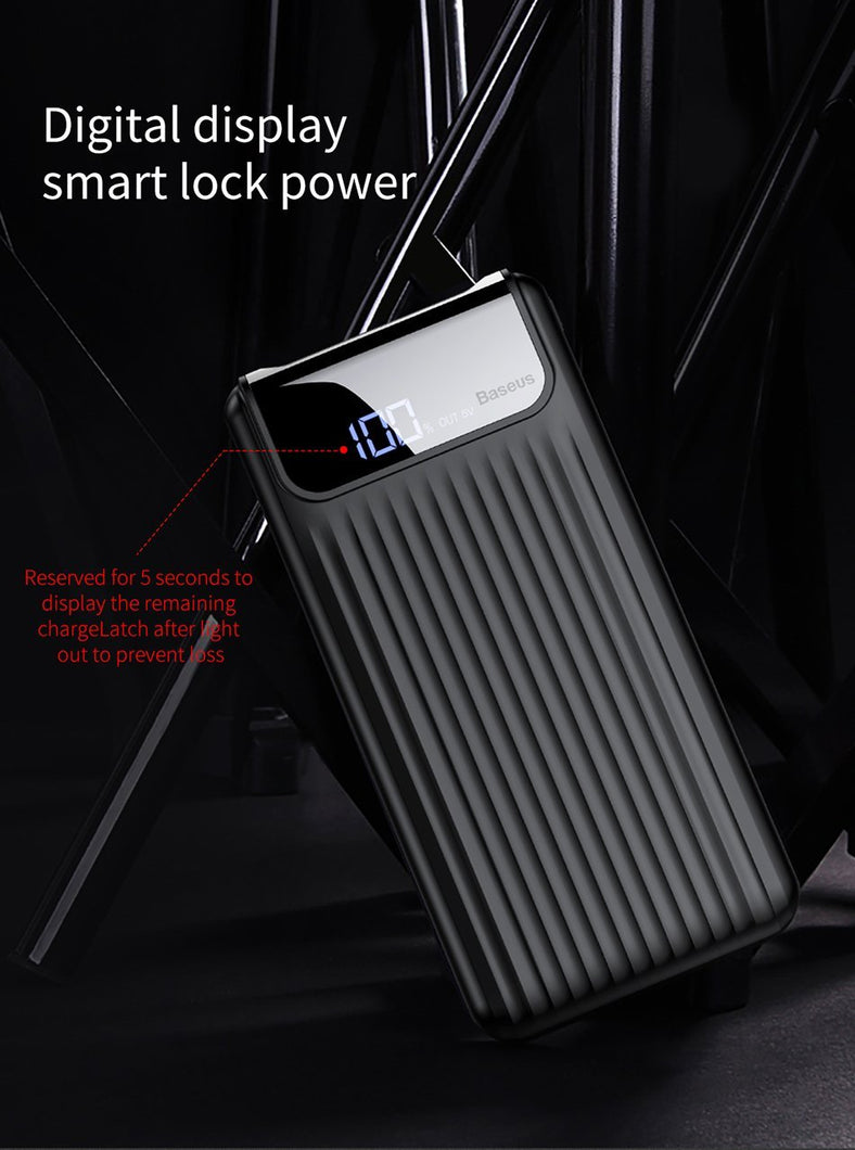 Power Bank,Quick Charge 3.0 Dual USB Power Bank | Gigatrendy.com