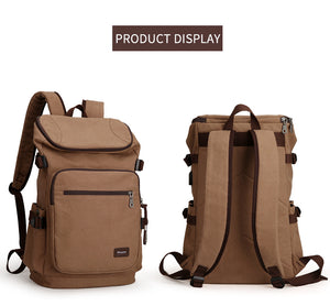 Canvas Travel USB Backpack | Gigatrendy.com