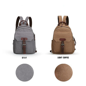 Fashion Canvas School Backpack | Gigatrendy.com