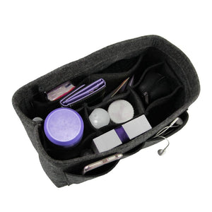 Women's Bag Makeup Bag in Bag Organizer Insert | Gigatrendy.com