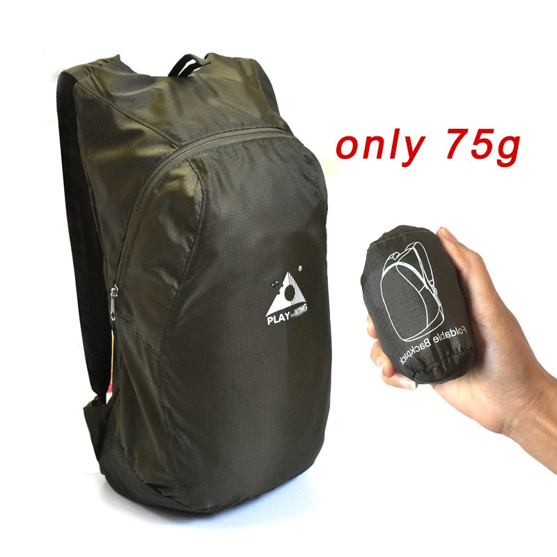 Gadget,Foldable Nylon Waterproof Backpack | Gigatrendy.com