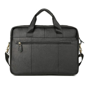 Briefcase Leather Messenger Bag - Shop Gigatrendy.com Trending Products