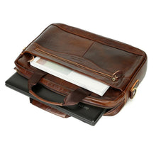 Load image into Gallery viewer, Briefcase Leather Messenger Bag - Shop Gigatrendy.com Trending Products