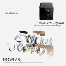Load image into Gallery viewer, HD DPL Mini Projector | Gigatrendy.com