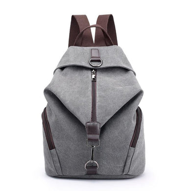 Fashion Canvas College Backpack | Gigatrendy.com