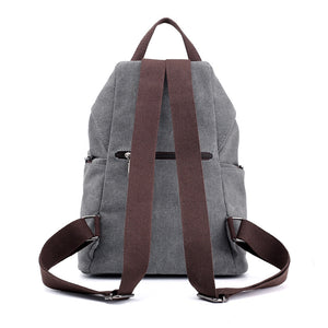 School Backpack,Fashion Canvas College Backpack | Gigatrendy.com