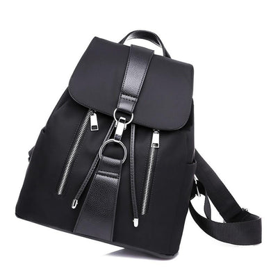School Backpack,Black Modern Fashion Street-wear Backpack | Gigatrendy.com