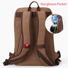 Load image into Gallery viewer, Canvas School Backpack With USB - Shop Gigatrendy.com Trending Products