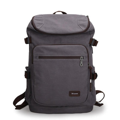 Canvas Travel USB Backpack - Shop Gigatrendy.com Trending Products