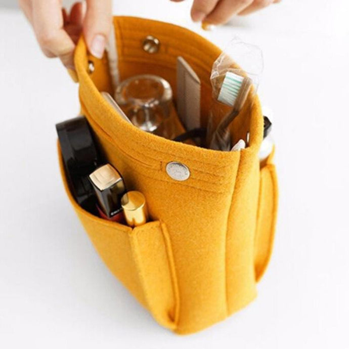 Handbag Purse Makeup Organizer For Tote | Gigatrendy.com