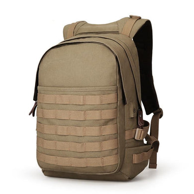 School Backpack,Military Style Laptop Canvas Backpack With USB Charging | Gigatrendy.com