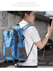 Sports USB Charging Laptop School Backpack - Shop Gigatrendy.com Trending Products