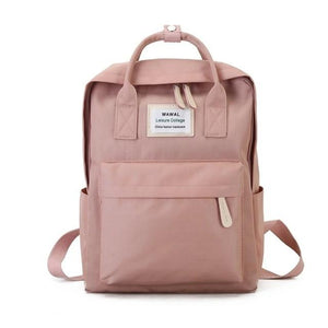 Canvas Look School Backpack - Shop Gigatrendy.com Trending Products
