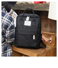 Load image into Gallery viewer, Canvas Look School Backpack - Shop Gigatrendy.com Trending Products