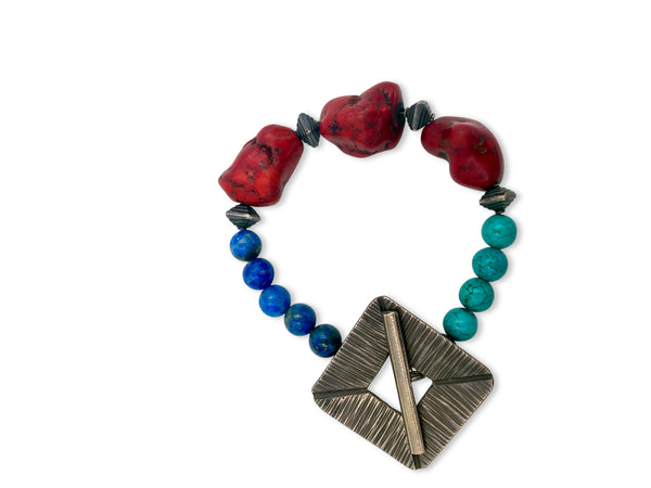 Bracelet-Tri Color Trifecta!