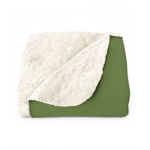 Classic Fleece Blanket in Olive