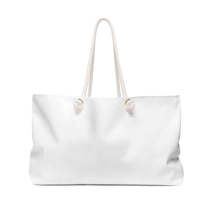 Sihlouette Weekender Bag in White