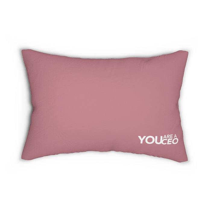 Mom - The Heartbeat Lumbar Pillow