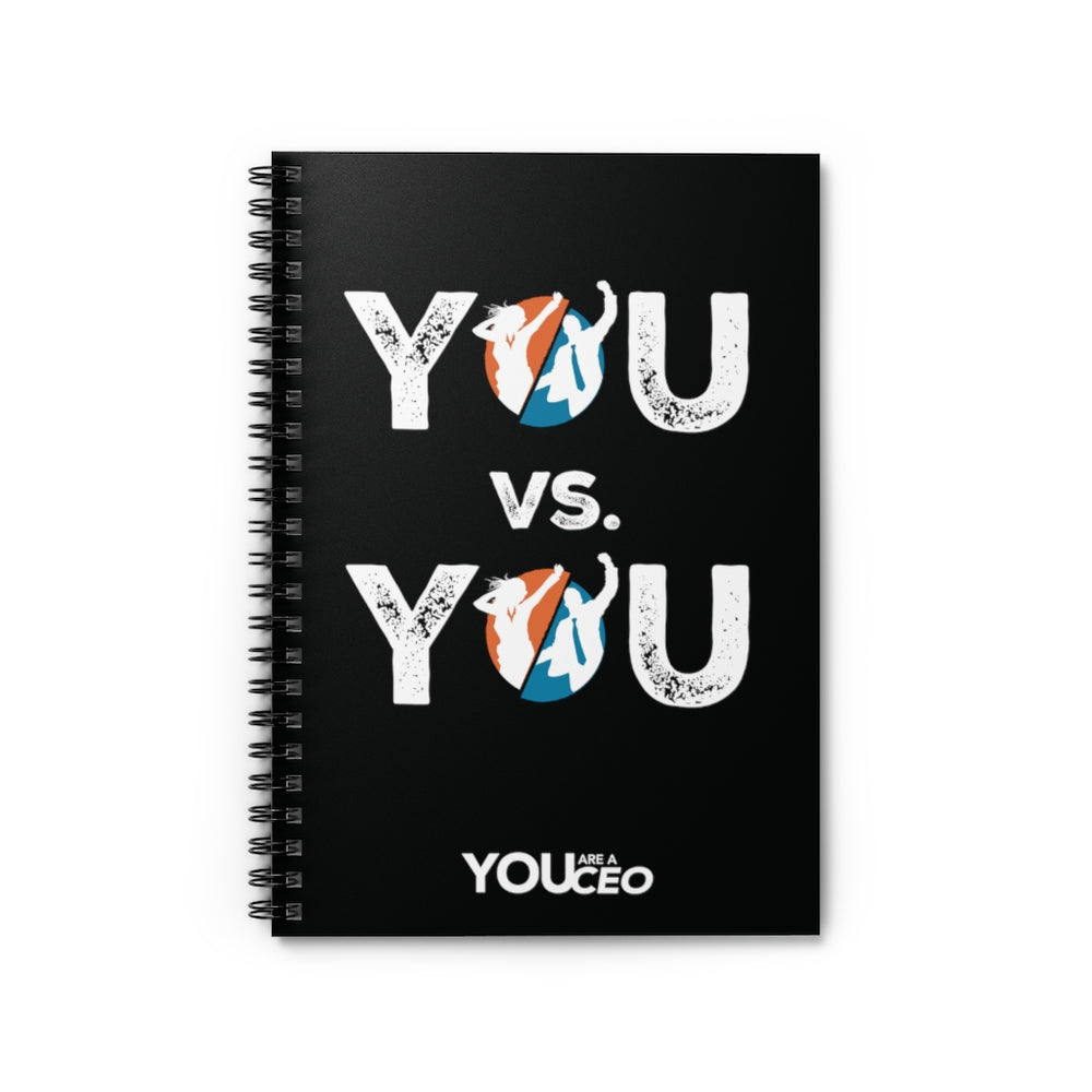 YOU vs. YOU Spiral Notebook