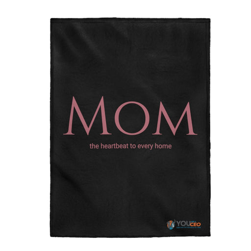 Mom - The Heartbeat Plush Blanket