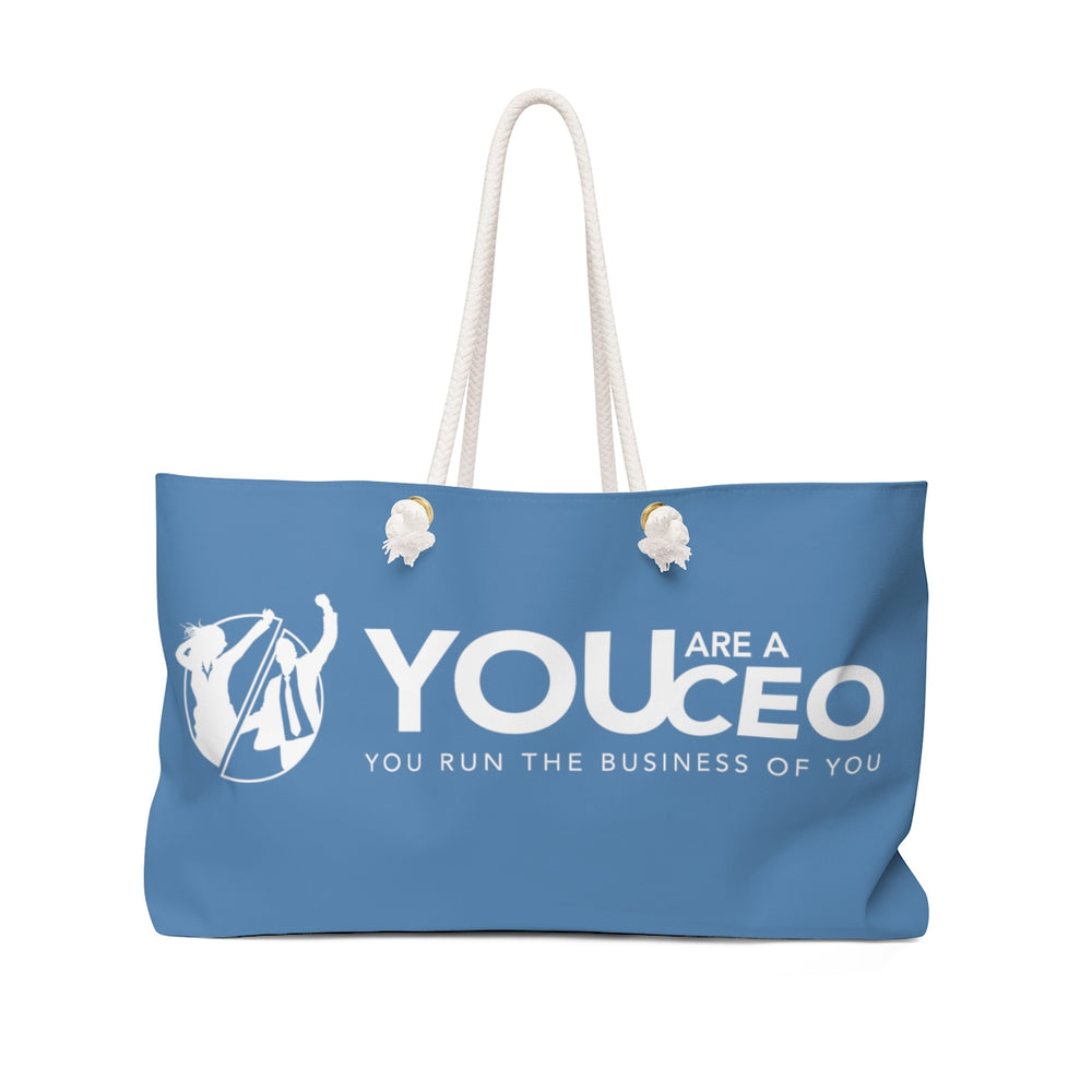You Are a CEO Weekender Bag in Blue