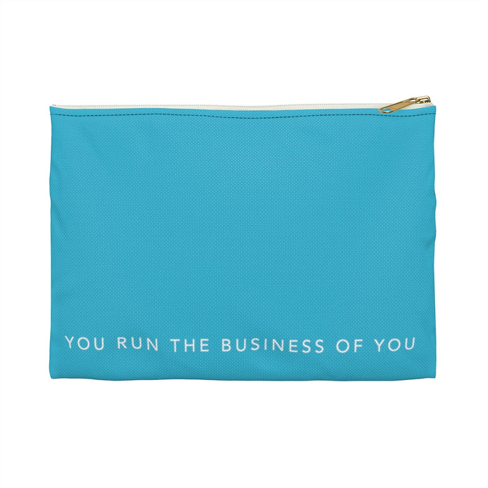 Teal Accessory Travel Bag
