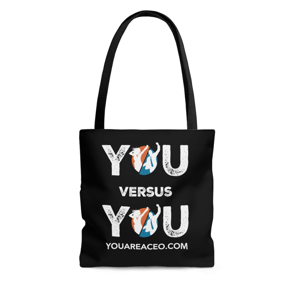 YOU VERSUS YOU Distressed Carryall Bag