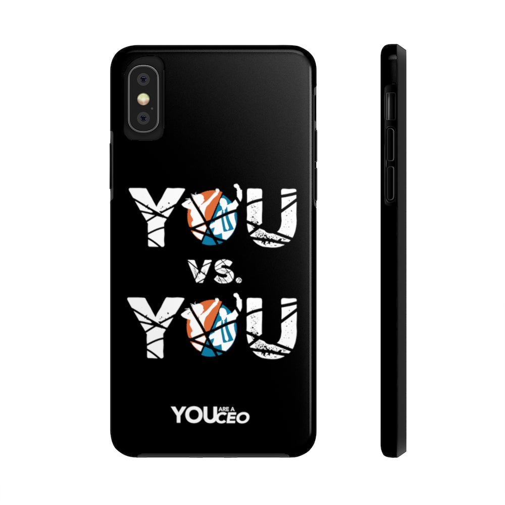 YOU vs. YOU Shattered iPhone Case
