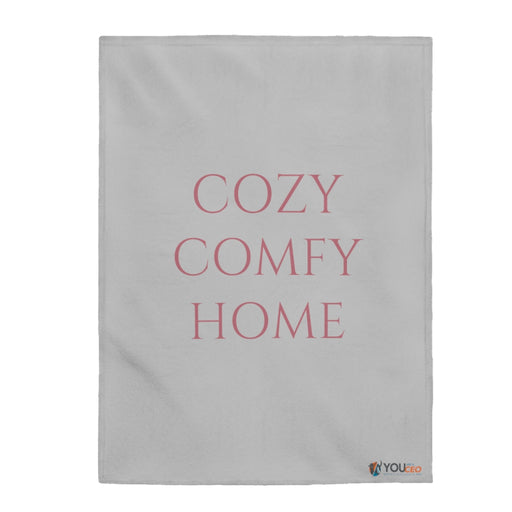 Cozy Comfy Home Plush Blanket