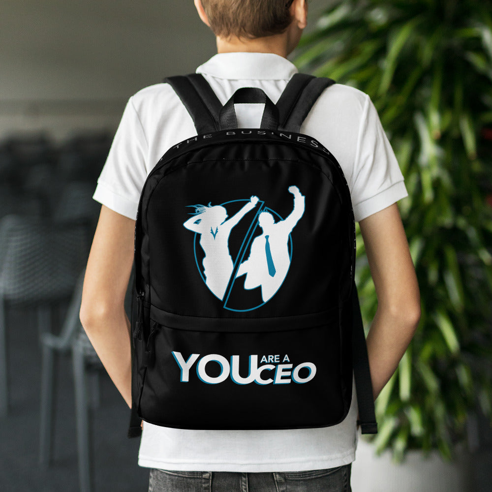 Silhouette Backpack in Black