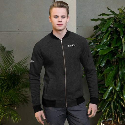 You Are a CEO Bomber Jacket in Black
