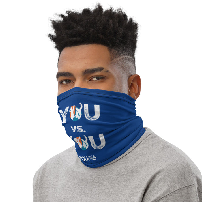 YOU vs. YOU Distressed Gaiter Mask