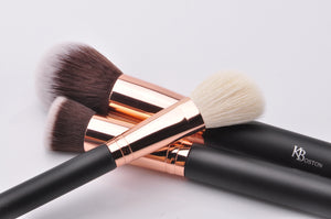 SMALL POWDER BRUSH - ROSE GOLD