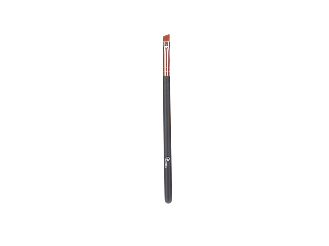 BROW/WING LINER BRUSH - ROSE GOLD