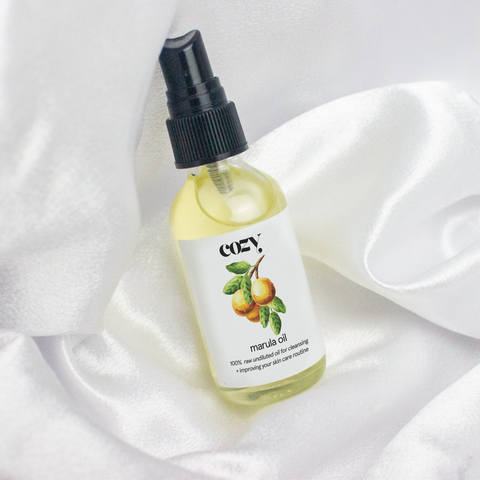 Virgin Organic Cold Pressed Marula Oil