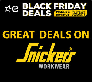 Snickers workwear black friday deals