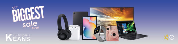 January Sales Ireland, Big Savings on Apple, Samsung, LG, Sony. Jan Sales,