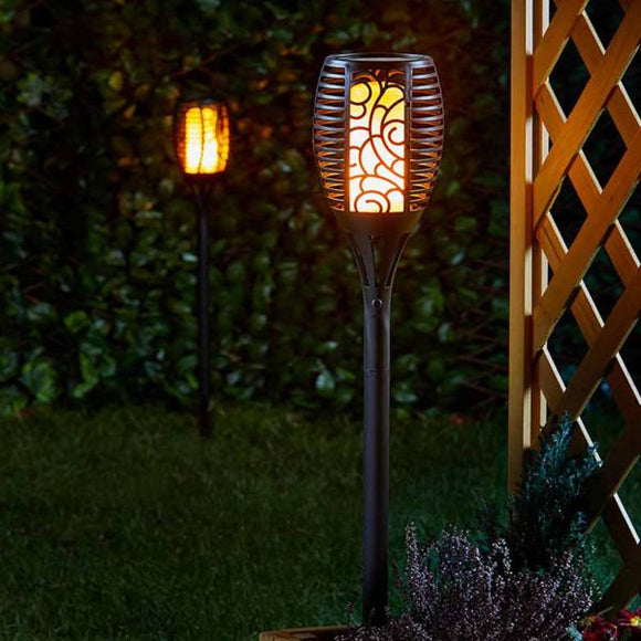 [2 for €30] Solar Cool Flame Lights