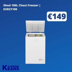 iDeal 100L Chest Freezer | EURCF100