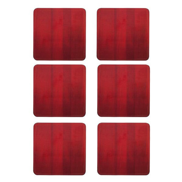 DENBY RED 6PC COASTERS