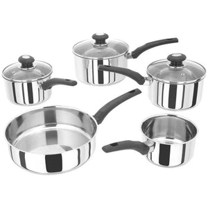 Judge Basics 5 Piece Stainless Steel Pan Set PP288