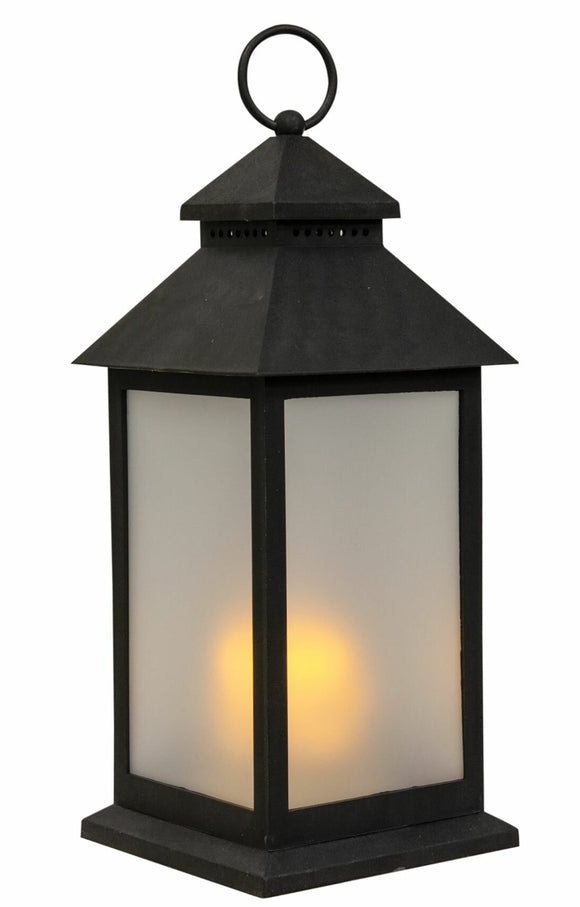 LED Latern 17L Flame 11x11x23cm