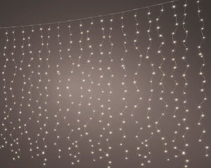 Micro LED Curtain Light 400L SIL/WW
