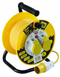 Faithfull 110V Cable Reel 25m