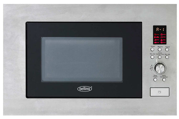 BELLING BUILT IN MICROWAVE S/S 900W 23LTR