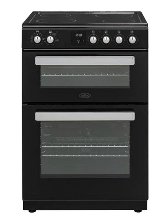BELLING 60CM CERAMIC COOKER BLACK BFSE6060TCBLK
