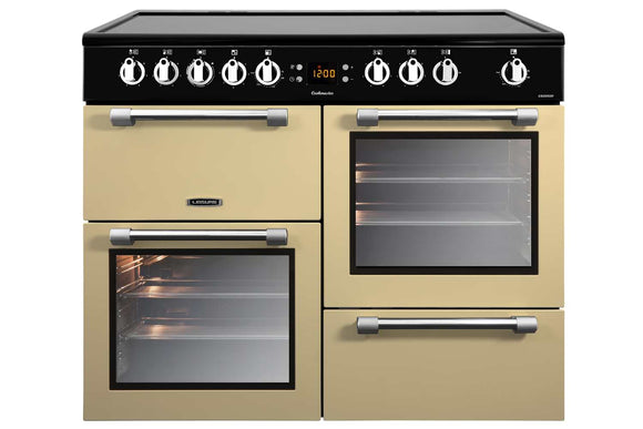 LEISURE 100CM COOKMASTER ELECTRIC RANGE COOKER IN CREAM