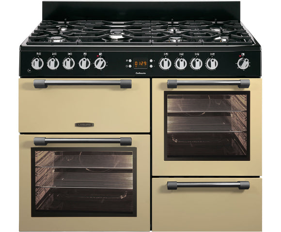 LEISURE 110CM COOKMASTER DUAL FUEL RANGE COOKER IN CREAM