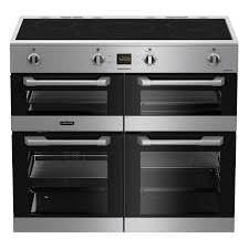 LEISURE 100CM CUISINEMASTER INDUCTION RANGE COOKER IN STAINLESS STEEL